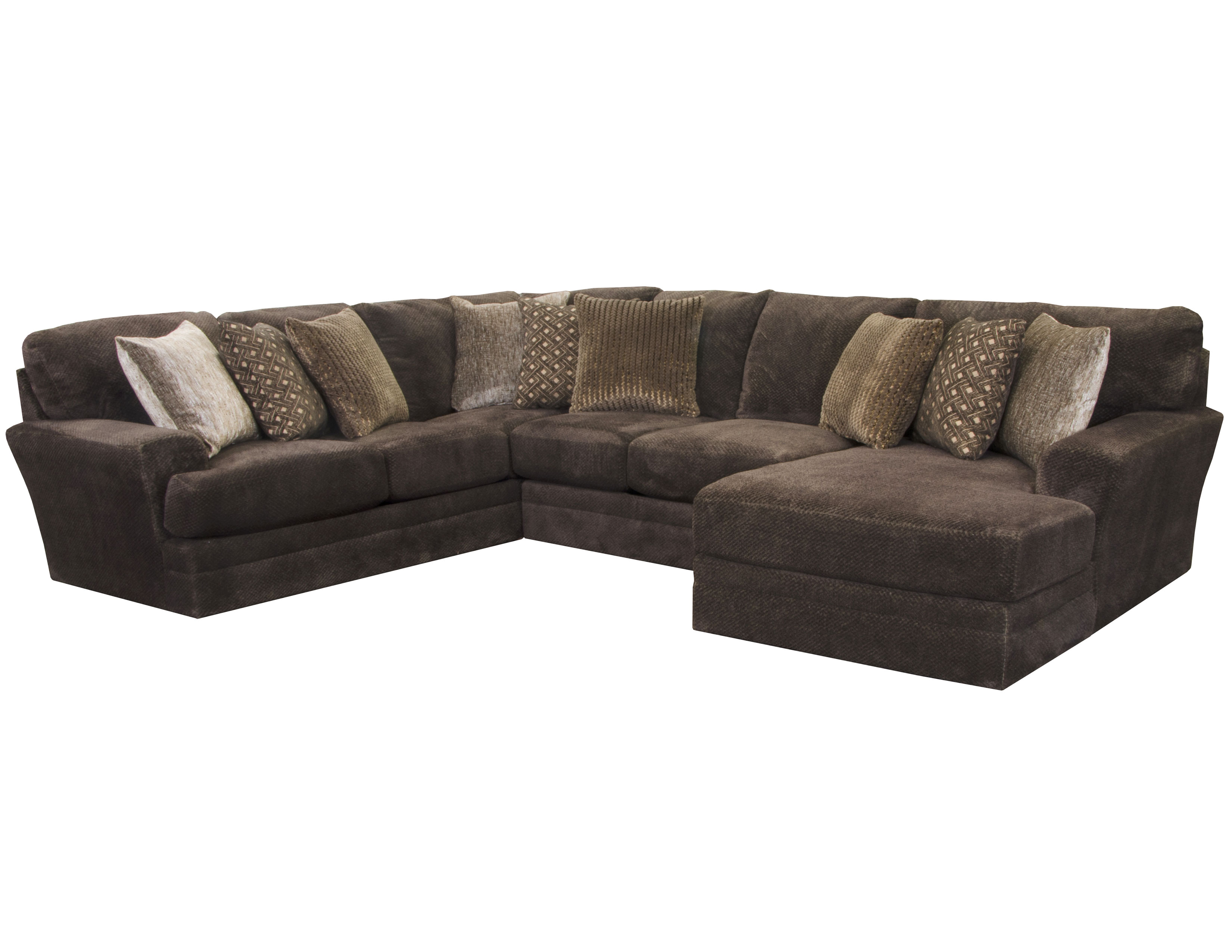 Stupendous Mammoth Sectional In Chocolate 15 Pieces Sofas And Sectionals Creativecarmelina Interior Chair Design Creativecarmelinacom