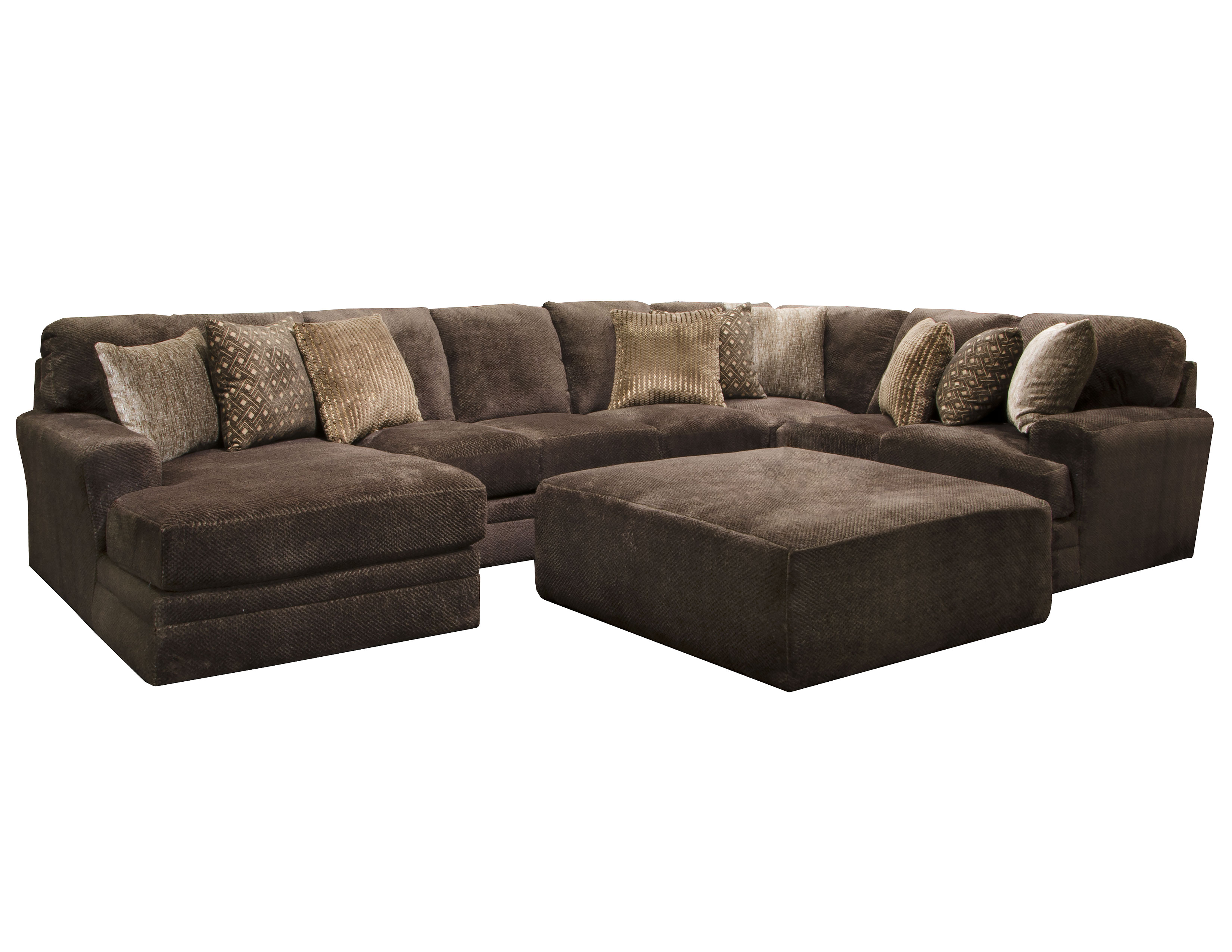 Incredible Mammoth Sectional In Chocolate 15 Pieces Sofas And Sectionals Creativecarmelina Interior Chair Design Creativecarmelinacom