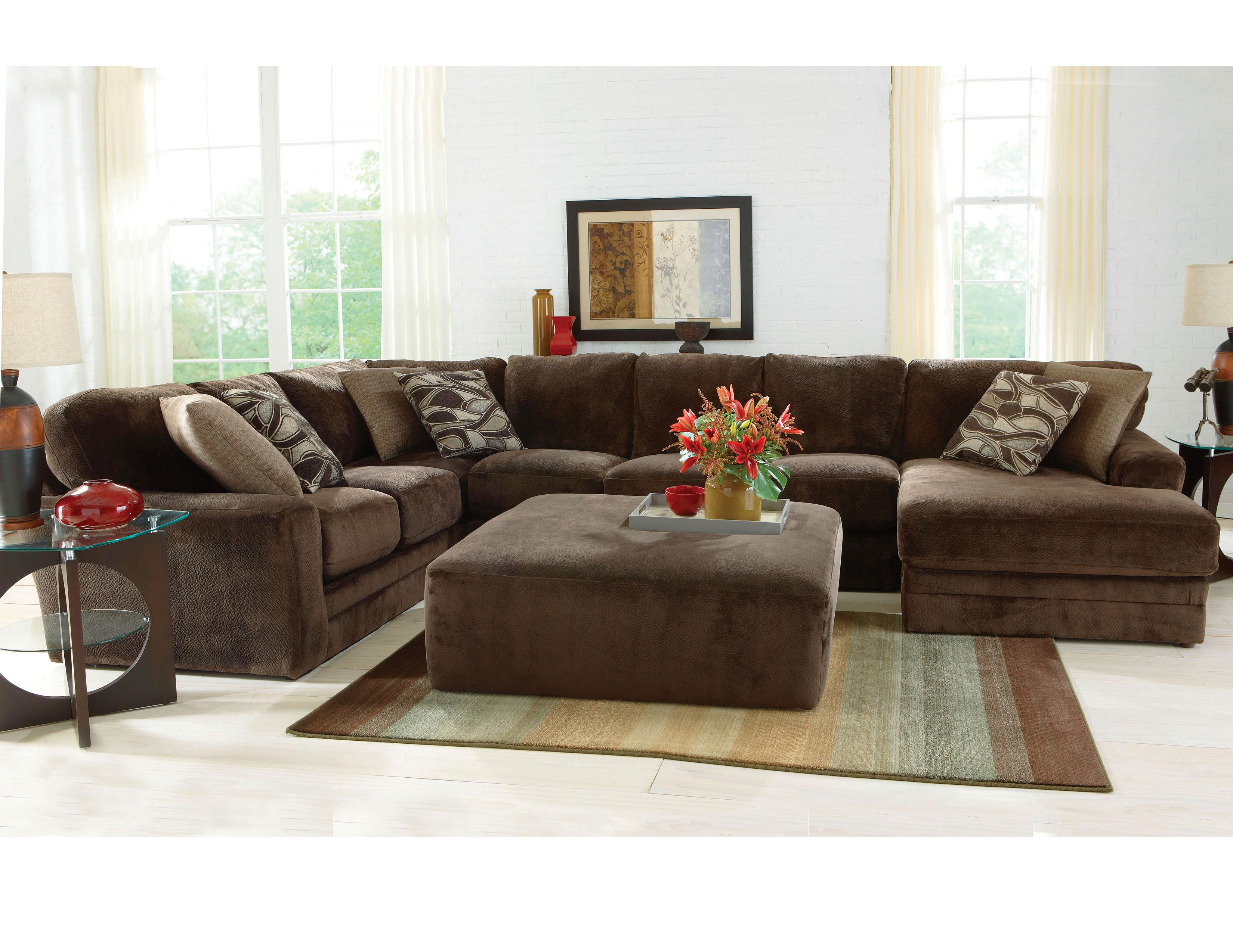 Cool Everest 4377 Stationary Sectional Choice Of Sofas And Pdpeps Interior Chair Design Pdpepsorg
