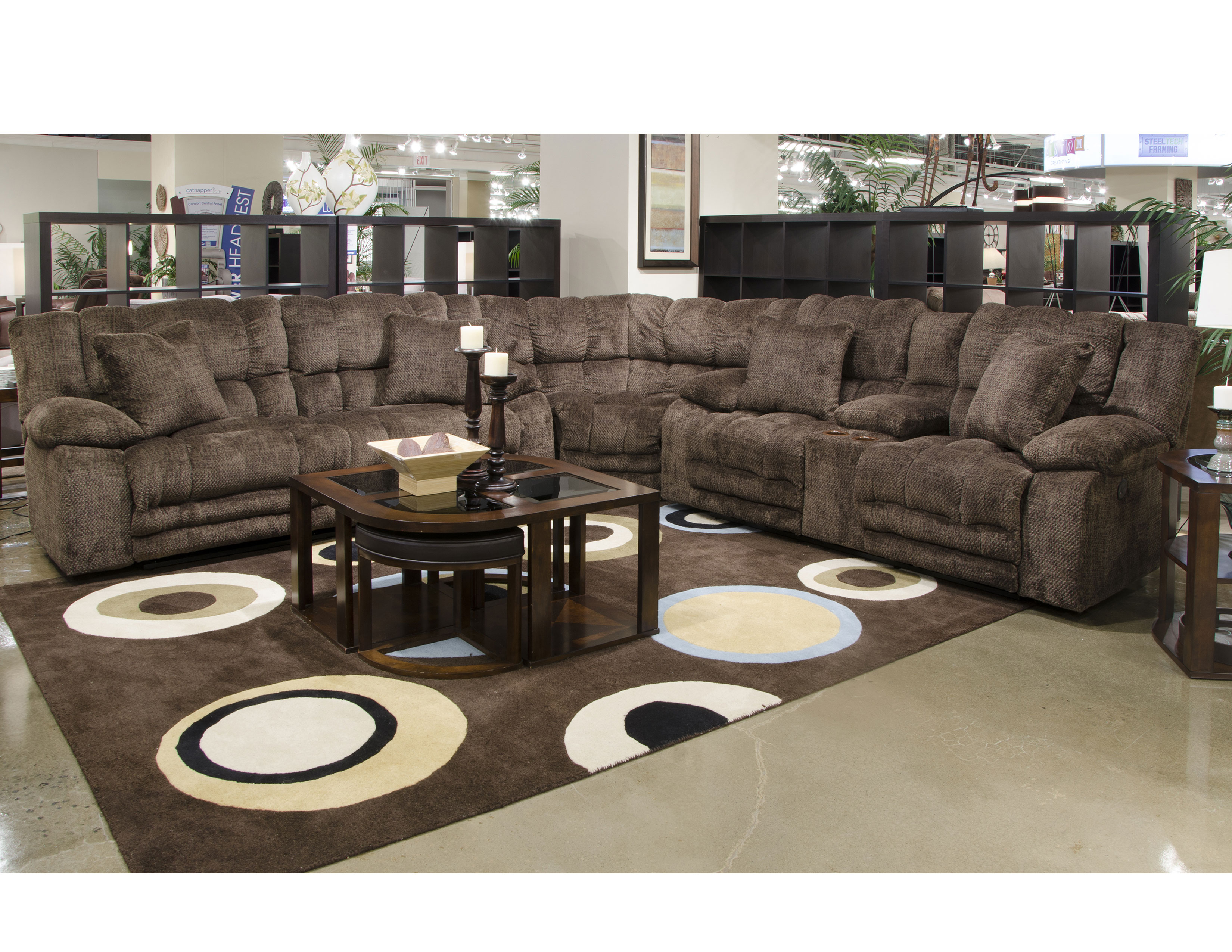 Peachy Branson 3 Piece Layflat Reclining Sectional W Sofas And Onthecornerstone Fun Painted Chair Ideas Images Onthecornerstoneorg