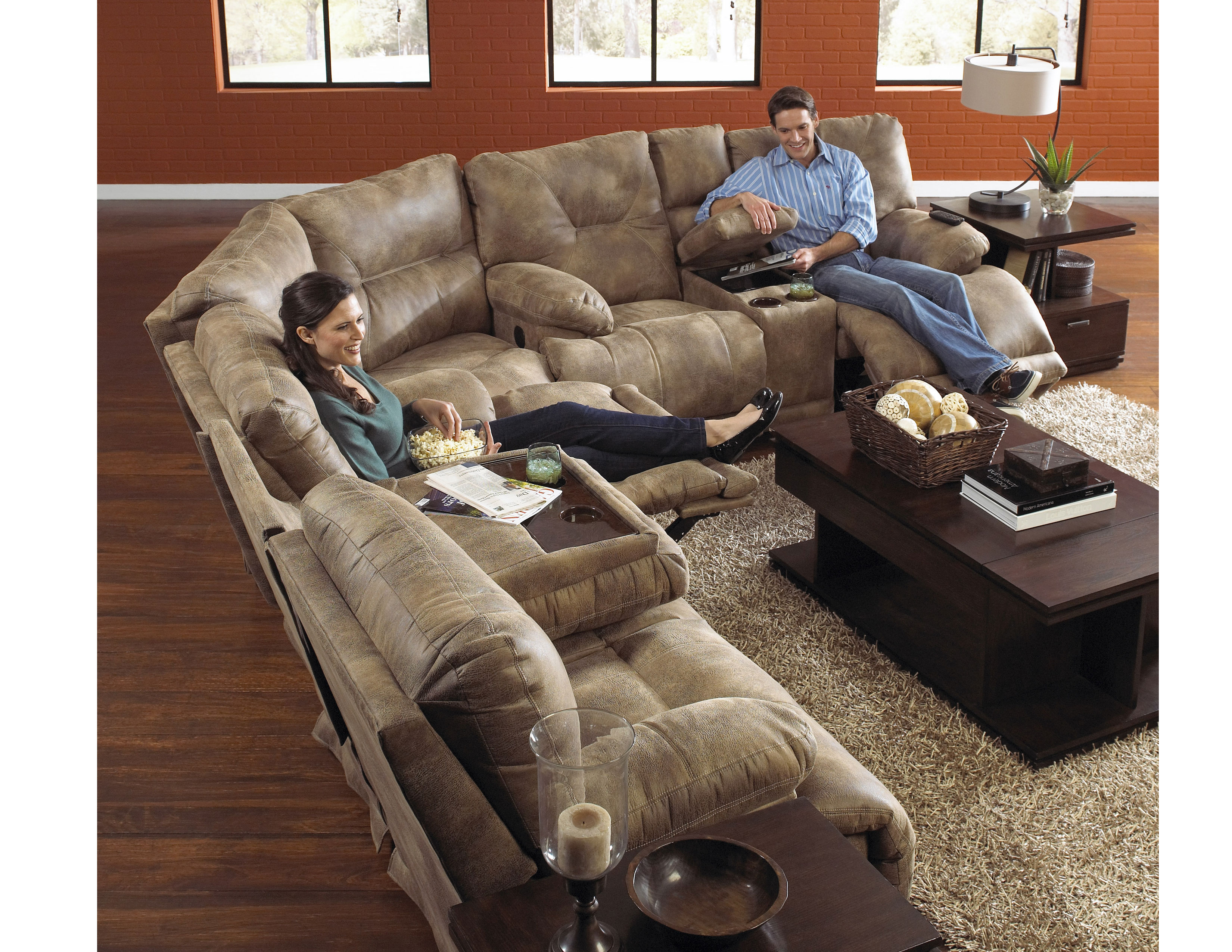 Admirable Voyager Layflat Reclining Sectional 3 Colors Sofas And Ncnpc Chair Design For Home Ncnpcorg