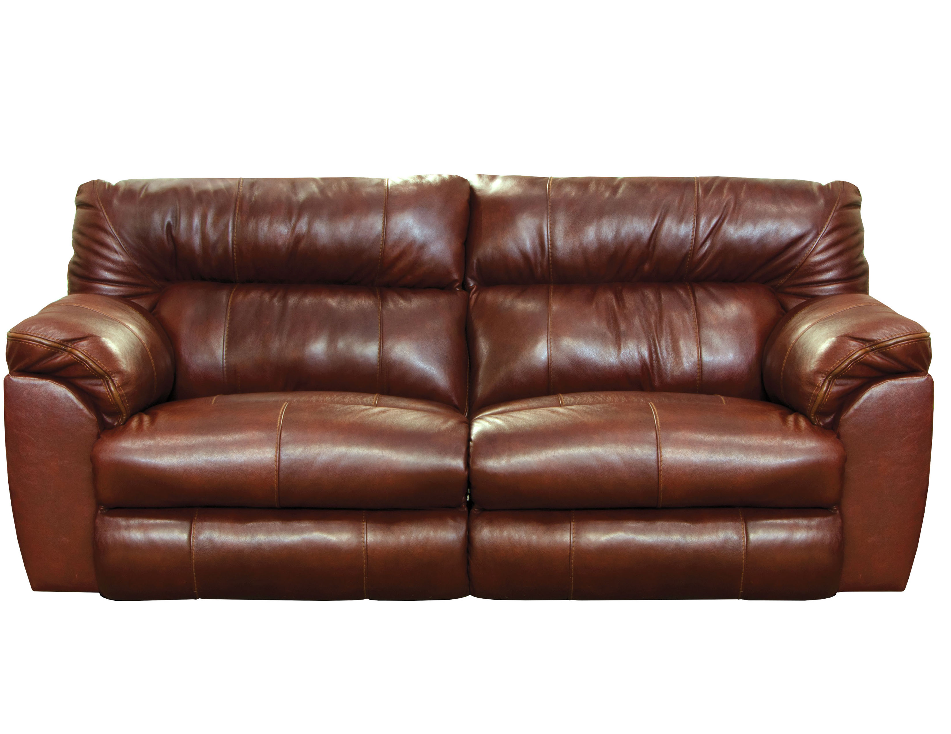 Picture of: Milan 89 Layflat Leather Reclining Sofa Sofas And Sectionals