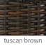 Tuscan Brown Finish