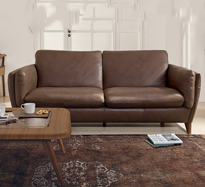 DAVIDE LEATHER RECLINING SOFA shop now u003e & Natuzzi Editions | Sofas and Sectionals islam-shia.org
