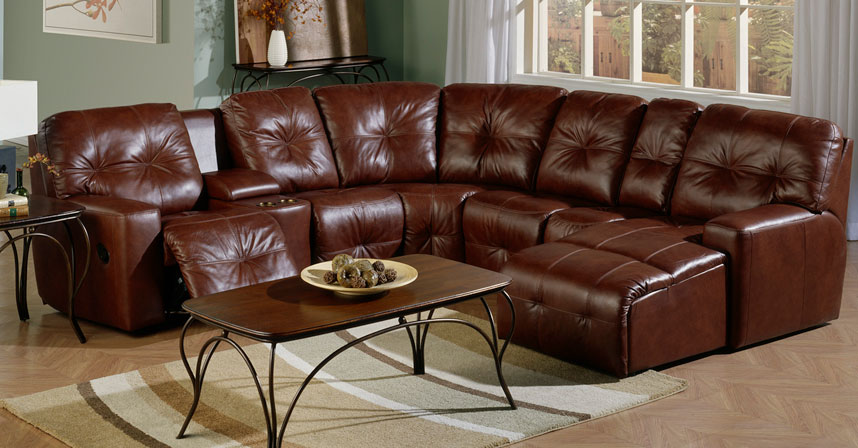 MYSTIQUE RECLINING SECTIONAL : recliner sectionals - Sectionals, Sofas & Couches