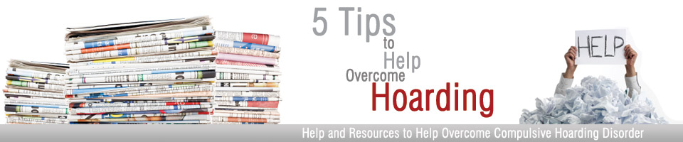 5 Tips to Overcome Hoarding Header
