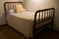 Antique Rustic European Bed