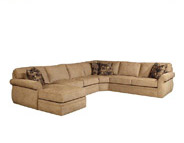 Broyhill veronica sectional Sofa in Beige