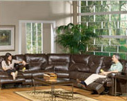 Catnapper Cortez Bonded Leather Sectional