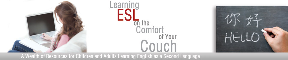 ESL Learning from Your Couch Header