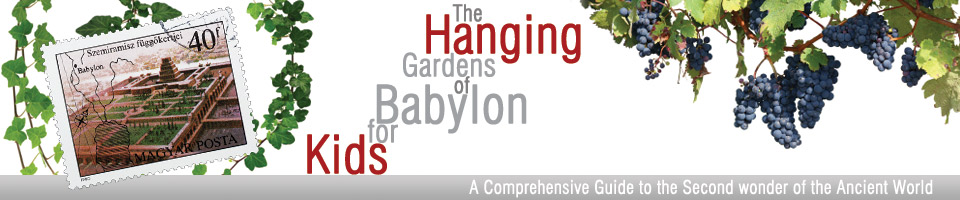 Hanging Gardens of Babylon for Kids Header