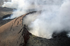Kilauea Crater Hawaii Active Volcano