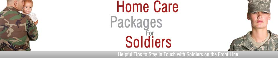 Home Care Packages for American Soldiers
