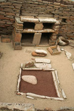 Close Up of Skara Brae Dresser