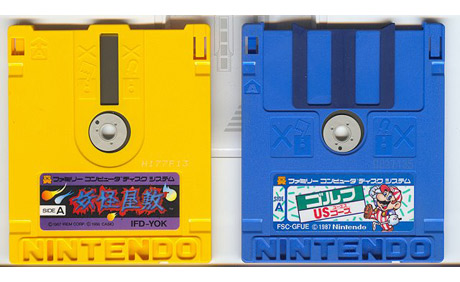 Games for the Japanese Nintendo Famicom