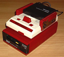 Nintendo Famicom System from Japan