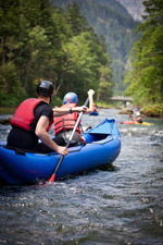Outdoor White water Rafting Trip