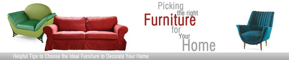 Picking the right furniture Header