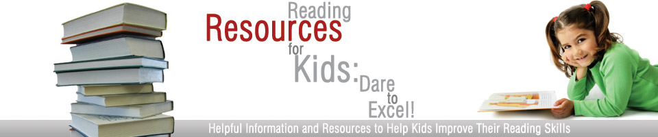 Reading Resources for Kids Header