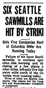 Seattle Times Artile About 1935 Strike
