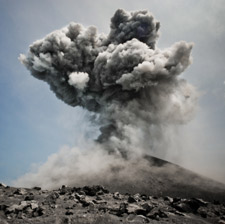 Anak Krakatau Indonesian Volcano Eruption